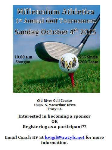 Golf tourney flyer CC