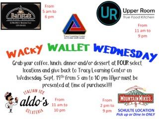 Wacky Wallet Flyer
