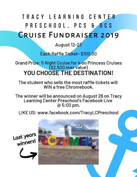 TLC cruise raffle flyer